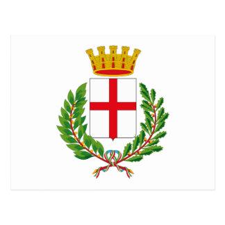 Milan Coat of Arms Postcard