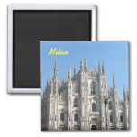 Milan fridge magnet