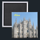"Milan fridge magnet<br><div class=""desc"">milan kitchen magnet</div>"