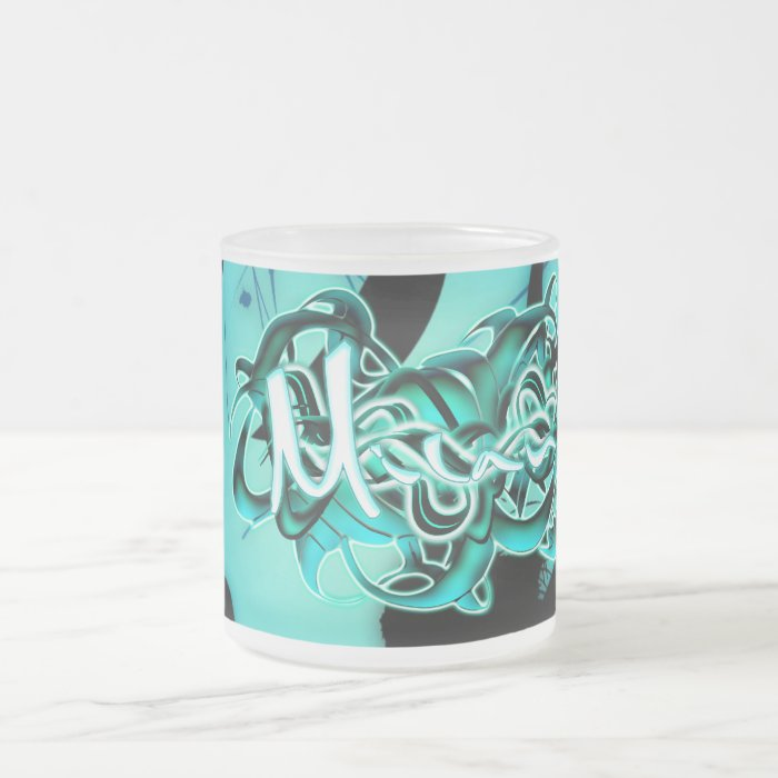 Milan Frosted Glass Coffee Mug