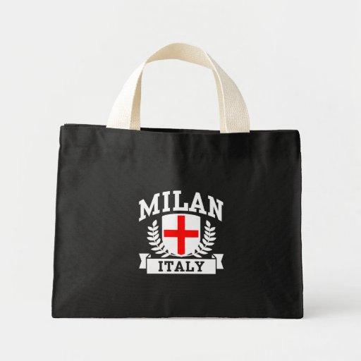 Milan Italy Canvas Bags