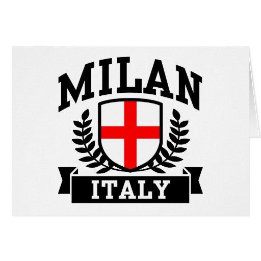 Milan Italy Cards