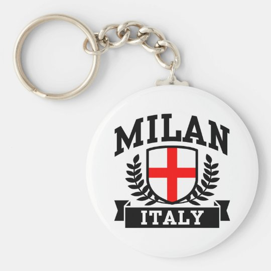 Milan Italy Keychain