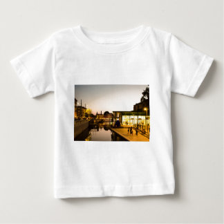 Milan overlooking the canal baby T-Shirt