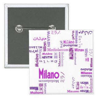Milan Pinback Button