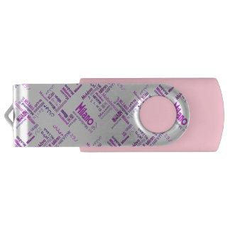 Milan Swivel USB 2.0 Flash Drive