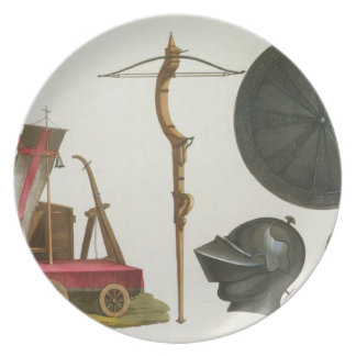 Milanese chariot, crossbow and armour, plate 17 fr
