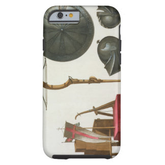 Milanese chariot, crossbow and armour, plate 17 fr tough iPhone 6 case