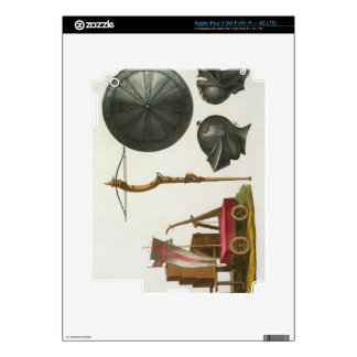 Milanese chariot, crossbow and armour, plate 17 fr iPad 3 decal