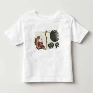 Milanese chariot, crossbow and armour, plate 17 fr toddler t-shirt