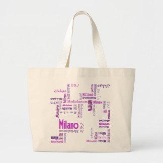Milano Bolsas Lienzo