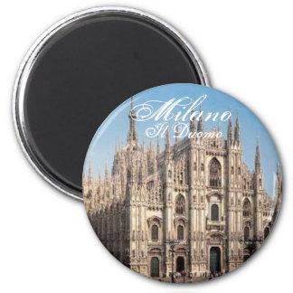 Milano_Duomo, Duomo de Milano, IL Imán Redondo 5 Cm