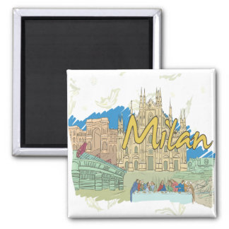 Milano Imán Para Frigorifico