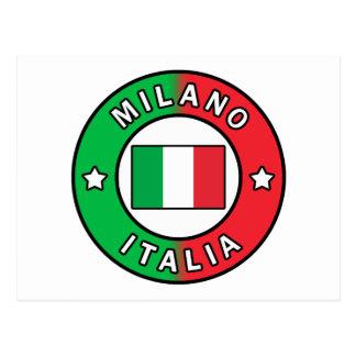 Milano Italia Postcard