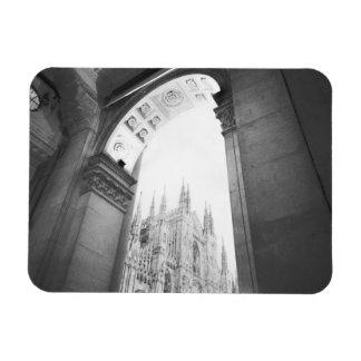 Milano Italy, Galleria View of the Duomo Rectangular Photo Magnet