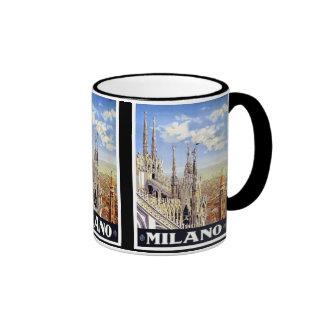 Milano Italy Vintage Travel Mug