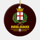 Milano (Milan) Ceramic Ornament