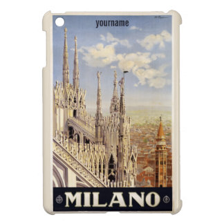 Milano (Milan) Italy vintage travel cases Cover For The iPad Mini