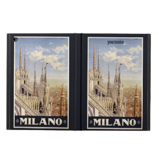 Milano (Milan) Italy vintage travel device cases Powis iPad Air 2 Case