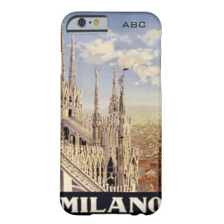 MIlano (Milan) vintage travel cases Barely There iPhone 6 Case