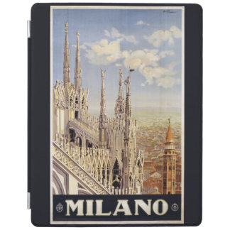 Milano (Milan) vintage travel device covers iPad Cover