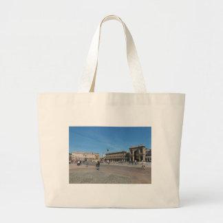 Milano, Piazza Duomo Large Tote Bag