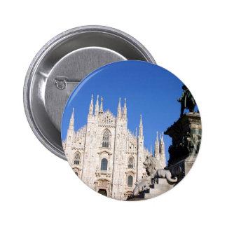 Milano Pin Redondo De 2 Pulgadas