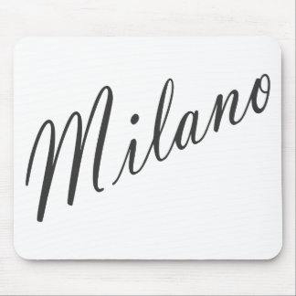 Milano products! mouse pad