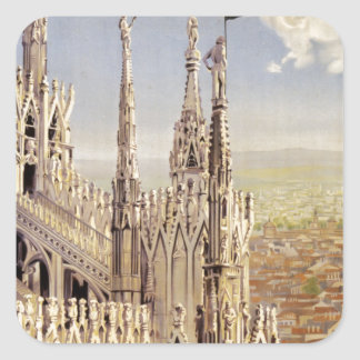 Milano Square Sticker