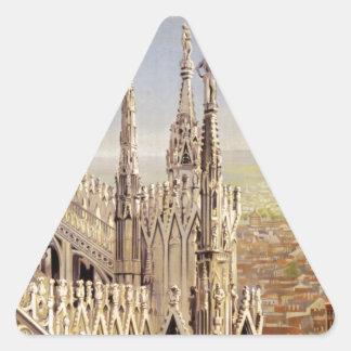 Milano Triangle Sticker