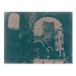 Milano vieja tarjeta postal