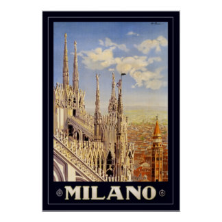Milano (with border) print