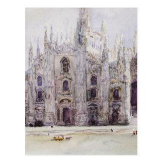 Milan's Cathedral by Vasily Surikov Postcard