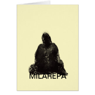 Milarepa Greeting Card (Universal)