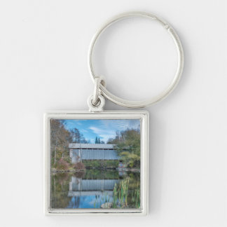 Milby Covered Bridge Keychain
