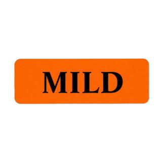 Mild Merchandise Tags Label