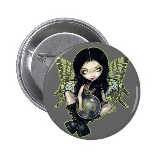 """""""Mildew"""" Fairy Button"""