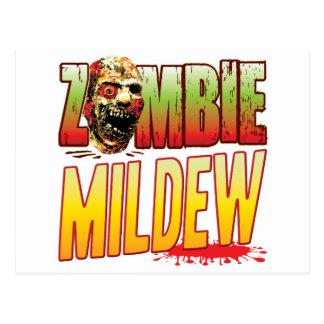 Mildew Zombie Head Postcard