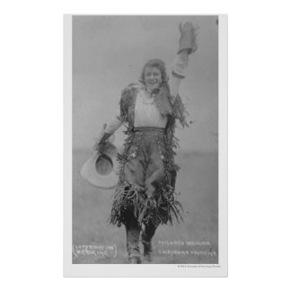 Mildred Douglas. Poster