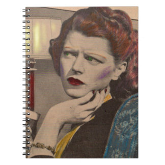Mildred is highly suspicious spiral notebook