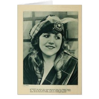 Mildred Reardon 1920 vintage portrait card