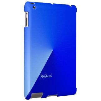 Mildred's ipad blue case
