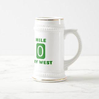 Mile 0 Key West Beer Stein
