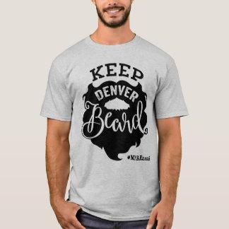 "Mile High Author Event ""Keep Denver Beard"" - Men's T-Shirt"