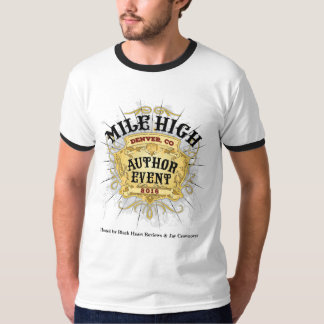 Mile High Author Event Men's Ringer T-Shirt