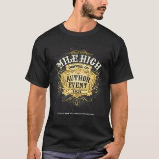 Mile High Author Event Men's T-Shirt - Black