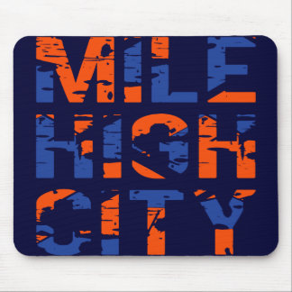 MILE HIGH CITY MOUSE PAD