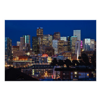 Mile High City Print