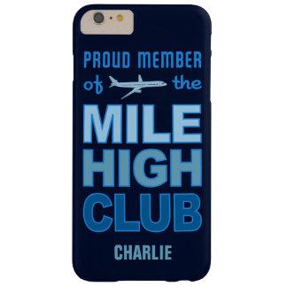 Mile High Club custom monogram phone cases