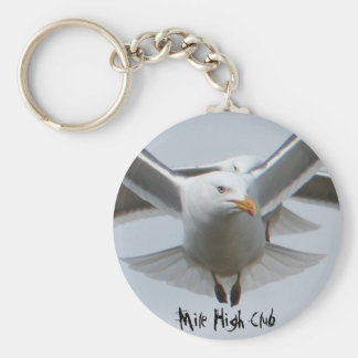 Mile High Club Keychain